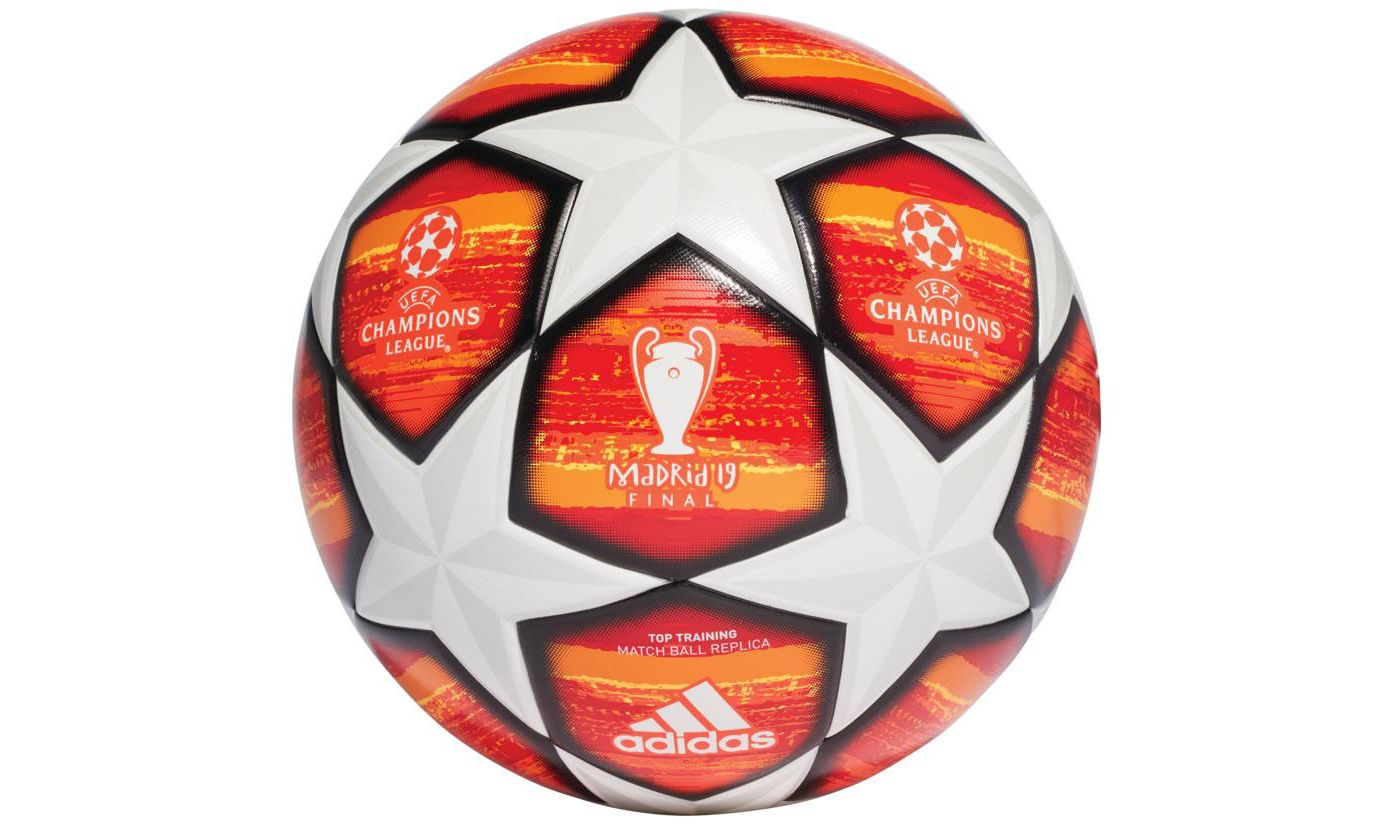 adidas UEFA Champions League Finale Madrid Top Training Soccer Ball