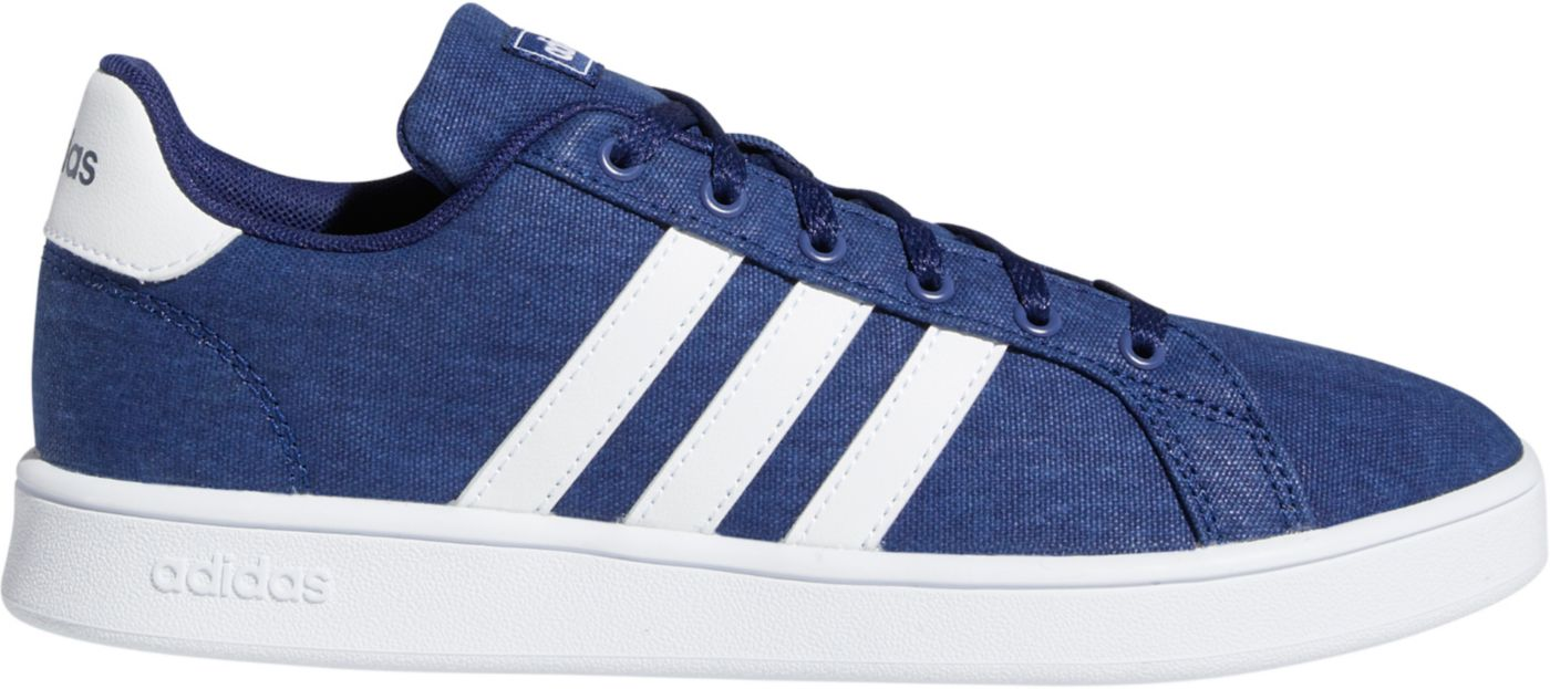 adidas Kids' Preschool Grand Court Canvas Shoes