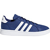 adidas Kids' Grade School Grand Court Canvas Shoes