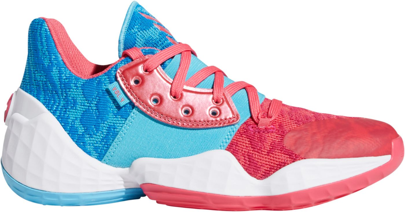 adidas Kids' Grade School Harden Vol. 4 Basketball Shoes