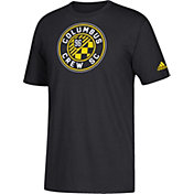 adidas Youth Columbus Crew Squad Black T-Shirt