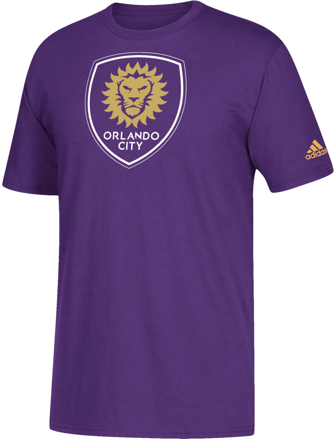 adidas Youth Orlando City Squad White T-Shirt