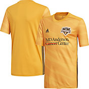 adidas Youth Houston Dynamo Primary Replica Jersey
