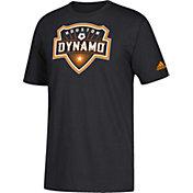 adidas Men's Houston Dynamo Squad Black T-Shirt