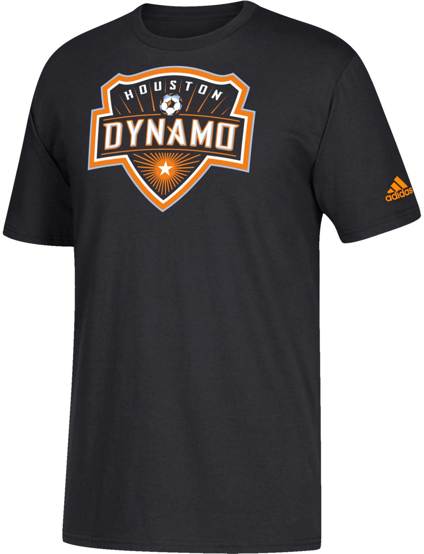 adidas Youth Houston Dynamo Squad Black T-Shirt