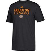 adidas Youth Houston Dynamo Big Logo Black T-Shirt