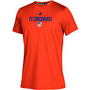 adidas Youth FC Cincinnati Big Logo Orange T-Shirt