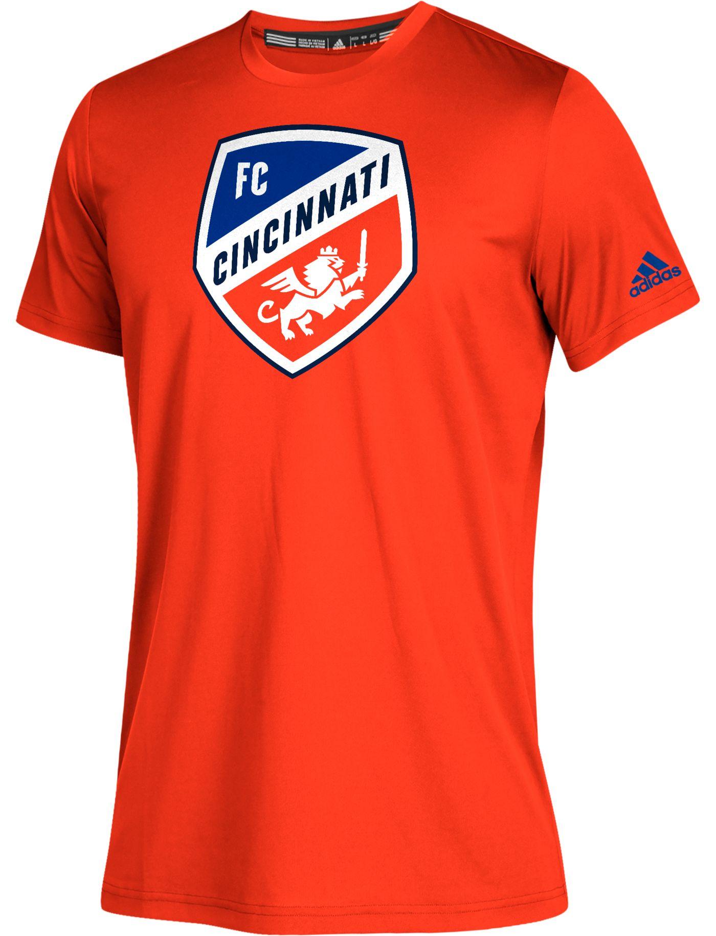 adidas Youth FC Cincinnati Squad Orange T-Shirt