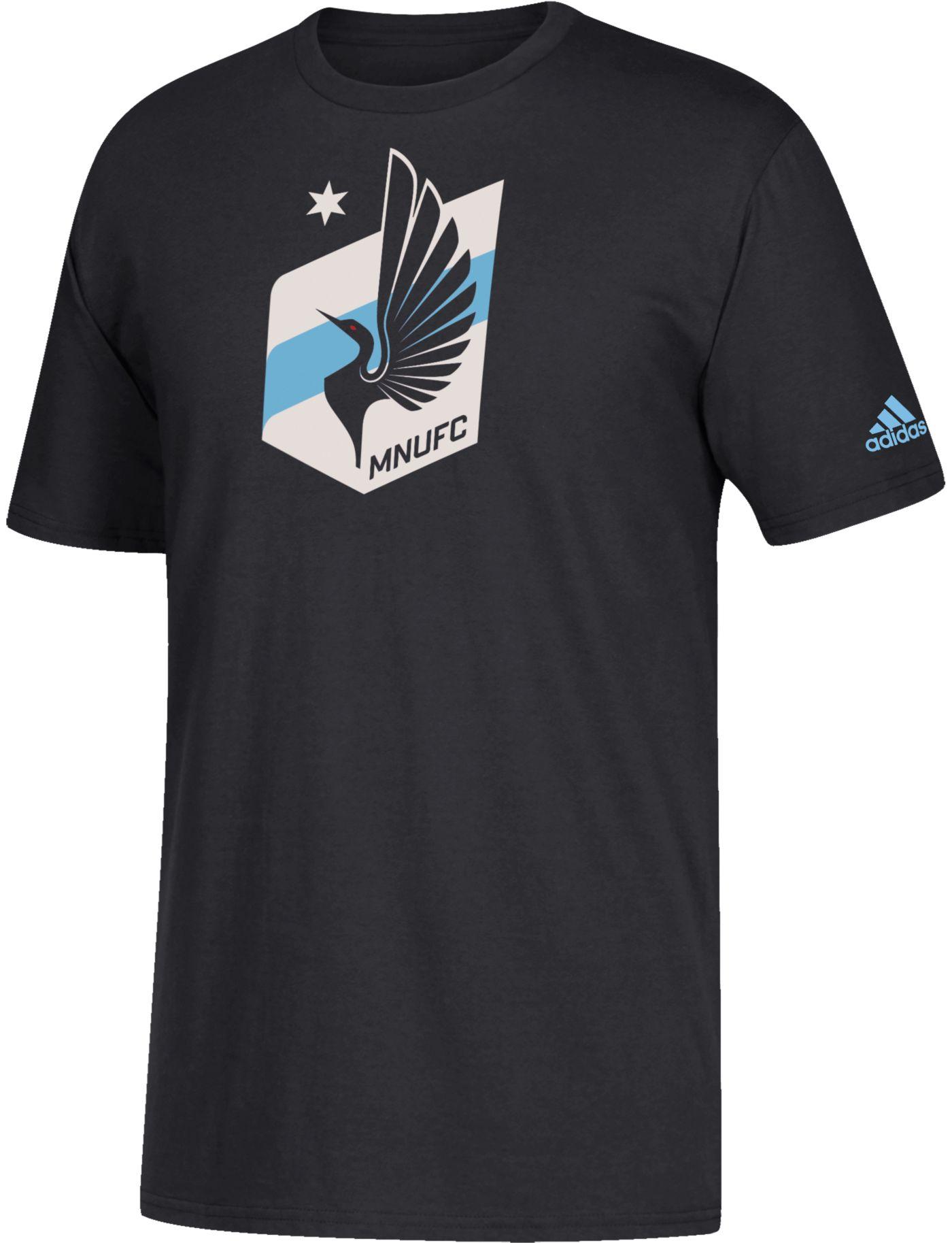 adidas Youth Minnesota United FC Squad Black T-Shirt