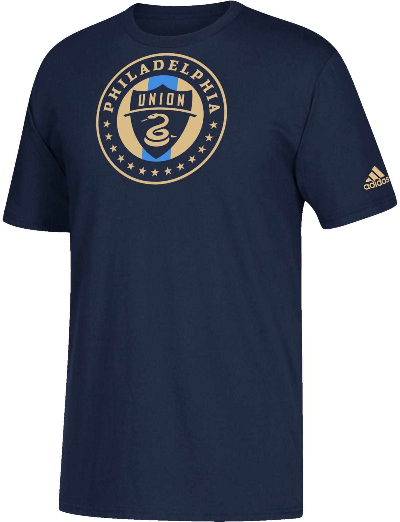 adidas Youth Philadelphia Union Squad Navy T-Shirt