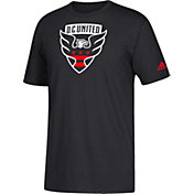 adidas Youth D.C United Squad Black T-Shirt