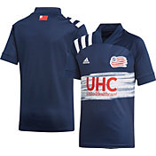 adidas Youth New England Revolution '20 Primary Replica Jersey
