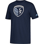 adidas Youth Sporting Kansas City Squad Navy T-Shirt