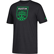 adidas Youth Austin FC Logo Black T-Shirt