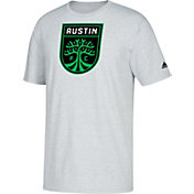 adidas Youth Austin FC Logo Gray T-Shirt
