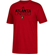 adidas Youth Atlanta United Big Logo Red T-Shirt