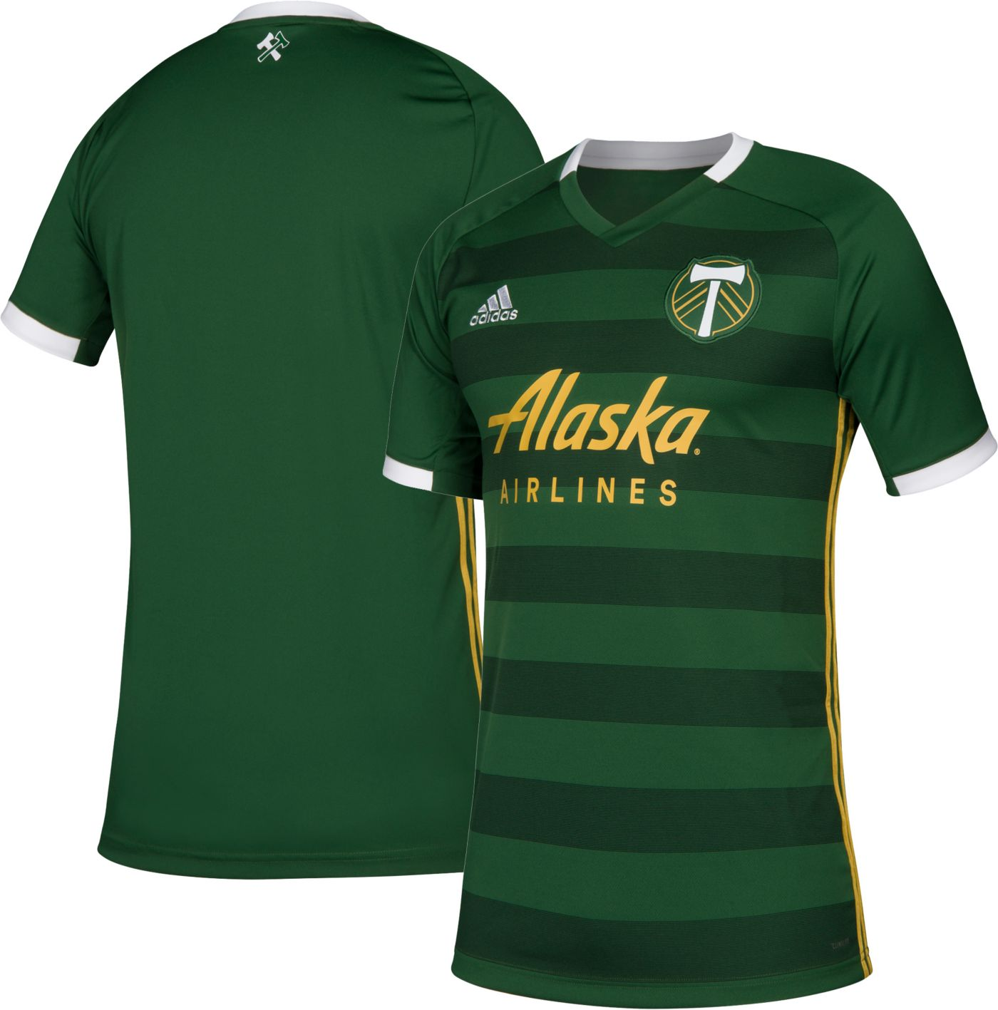 adidas Youth Portland Timbers Primary Replica Jersey