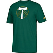 adidas Youth Portland Timbers Squad Green T-Shirt