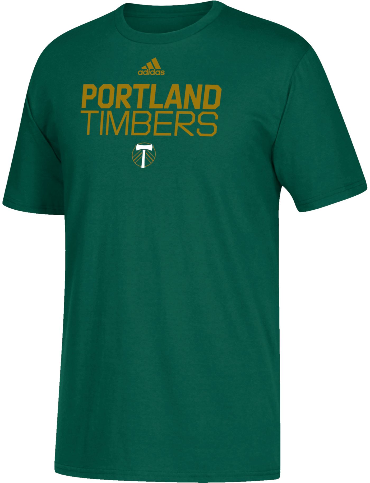 adidas Youth Portland Timbers Big Logo Green T-Shirt