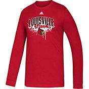 adidas Youth Louisville Cardinals Cardinal Red Playmaker Amplifier T-Shirt