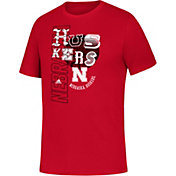 adidas Youth Nebraska Cornhuskers Scarlet Homegrown T-Shirt