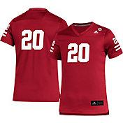 adidas Youth Nebraska Cornhuskers #20 Scarlet Replica Football Jersey