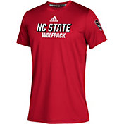 adidas Youth NC State Wolfpack Red Chromed Up Performance T-Shirt