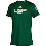 adidas Youth South Florida Bulls Green Chromed Up Performance T-Shirt