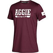 adidas Youth Texas A&M Aggies Maroon Locker Practice Sideline Football T-Shirt