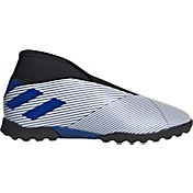 adidas Kids' Nemeziz 19.3 Laceless Turf Soccer Cleats