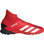 adidas Kids' Predator 20.3 Turf Laceless Soccer Cleats