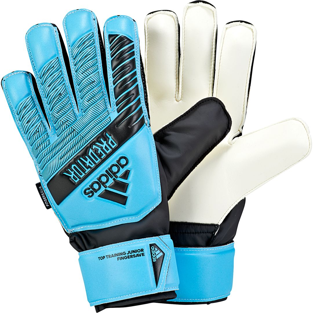 adidas Junior Predator Top Training Fingersave Soccer Goalkeeper Gloves
