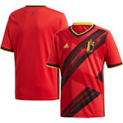 adidas Youth Belgium '20 Stadium Home Replica Jersey