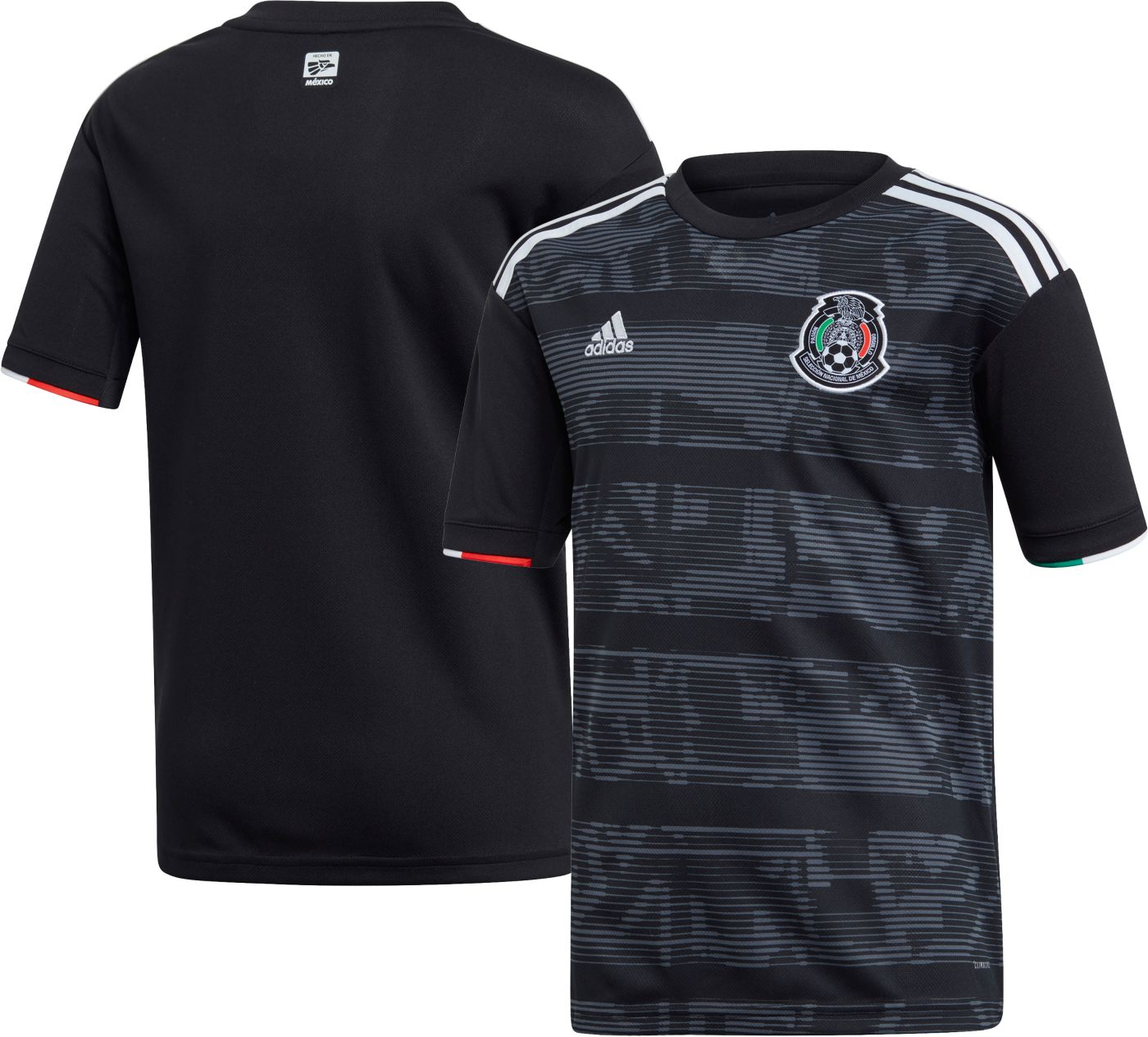 adidas Youth Mexico '19 Stadium Home Replica Jersey