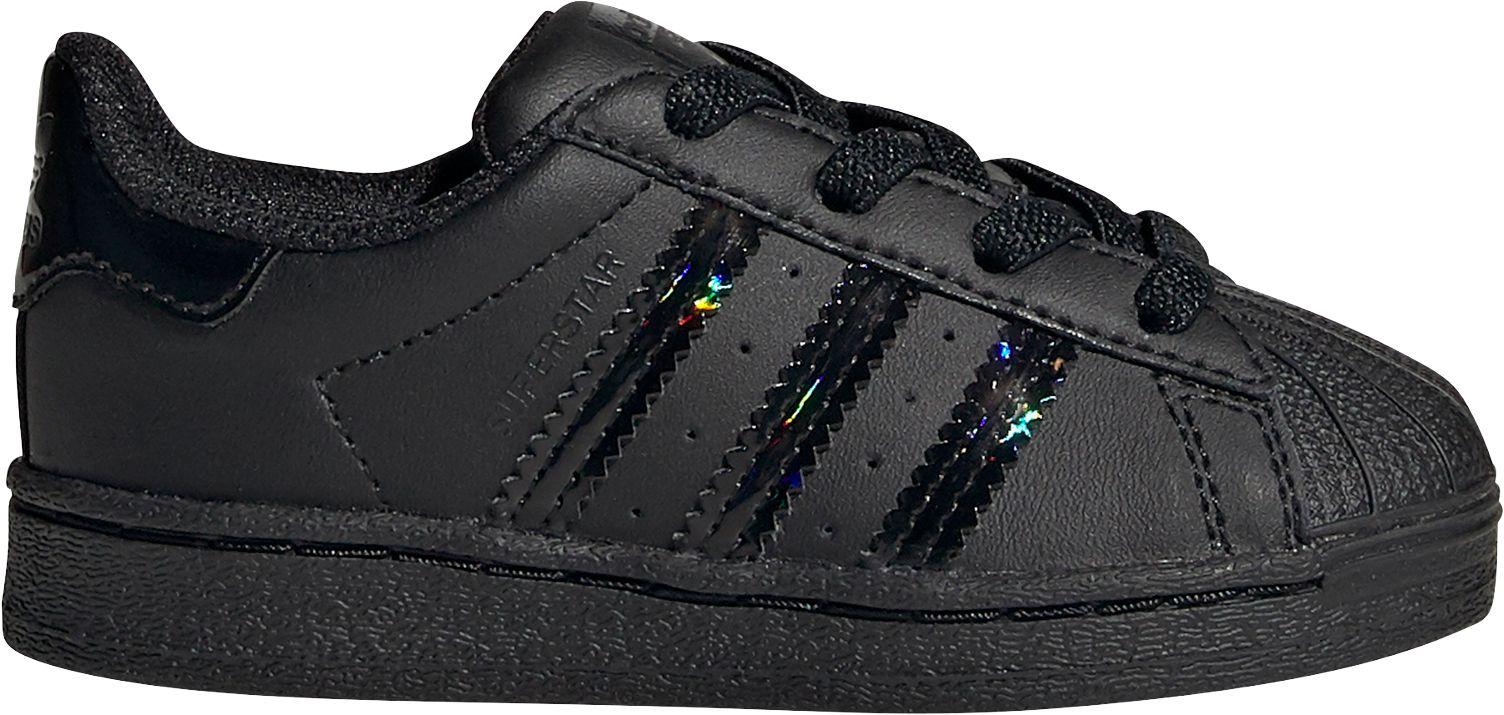 adidas superstar black iridescent
