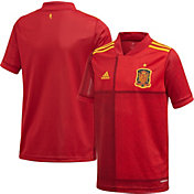 adidas Youth Spain '20 Stadium Home Replica Jersey