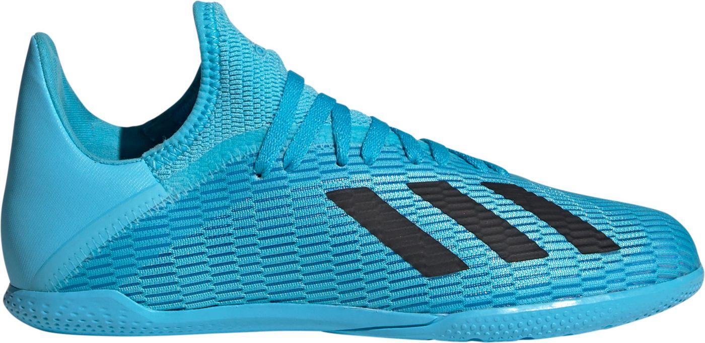 adidas Kids' X 19.3 Indoor Soccer Shoes