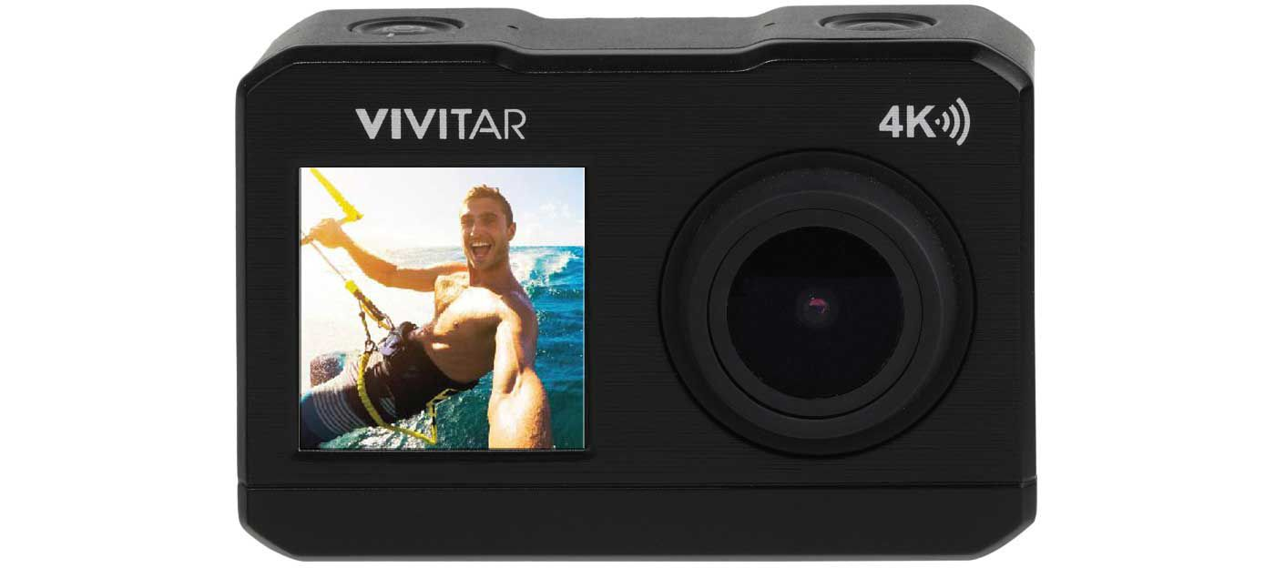 Vivitar DVR 922 4K Dual Screen Action Cam