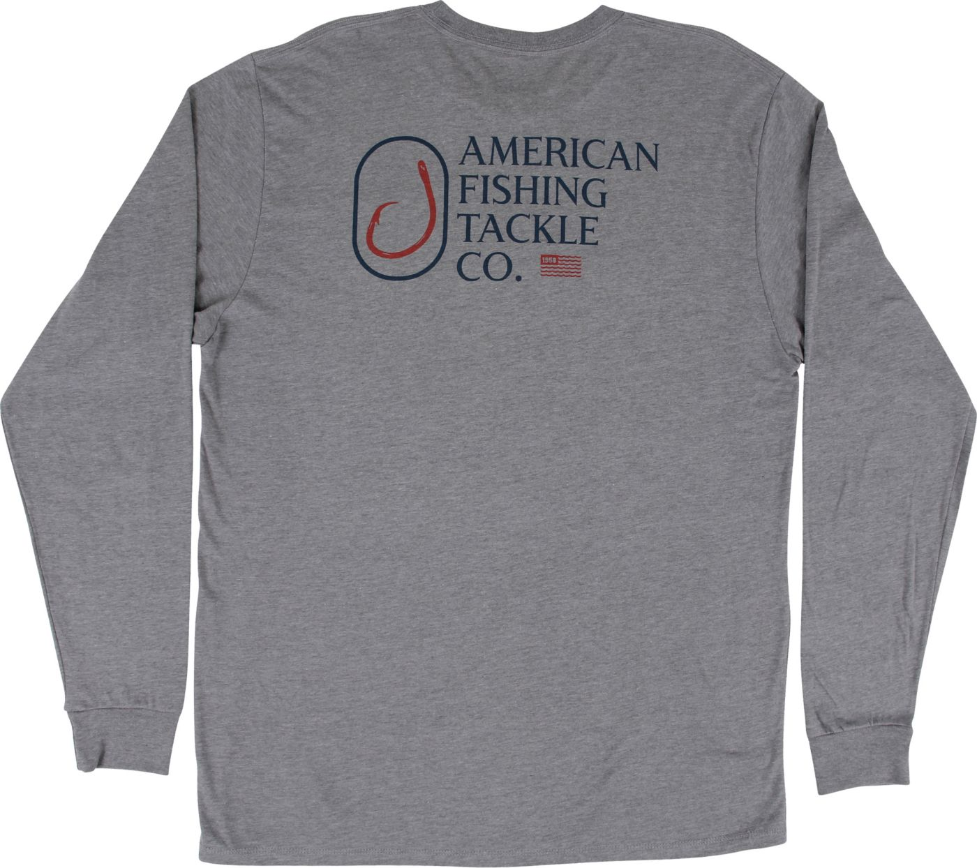 AFTCO Men's Backwash Graphic Long Sleeve Shirt