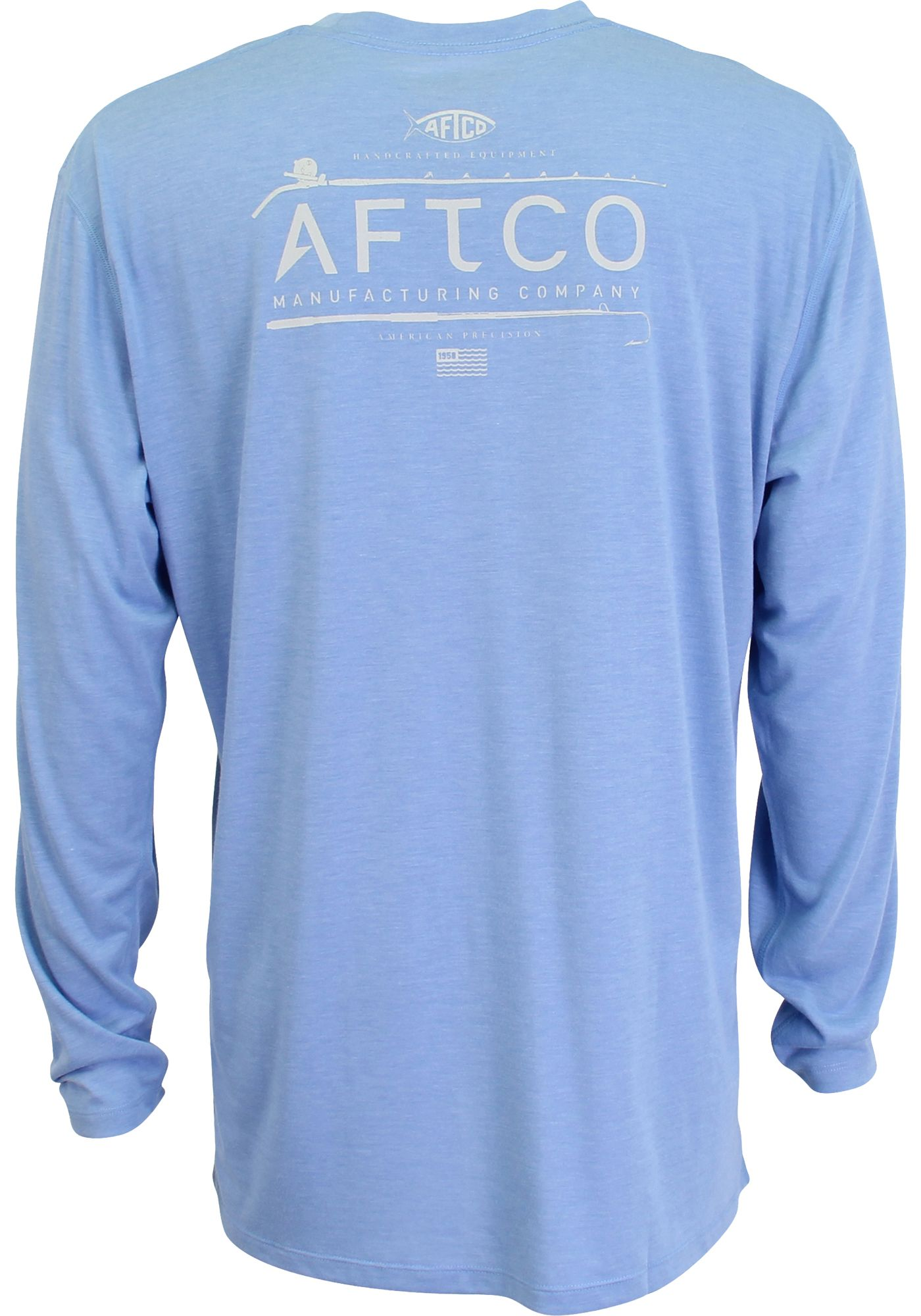 AFTCO Mens' Fishtale Performance Long Sleeve Shirt