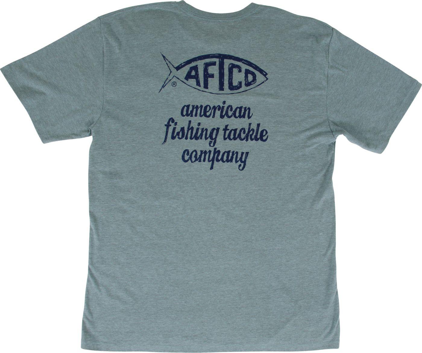 AFTCO Men's Torn Graphic T-Shirt