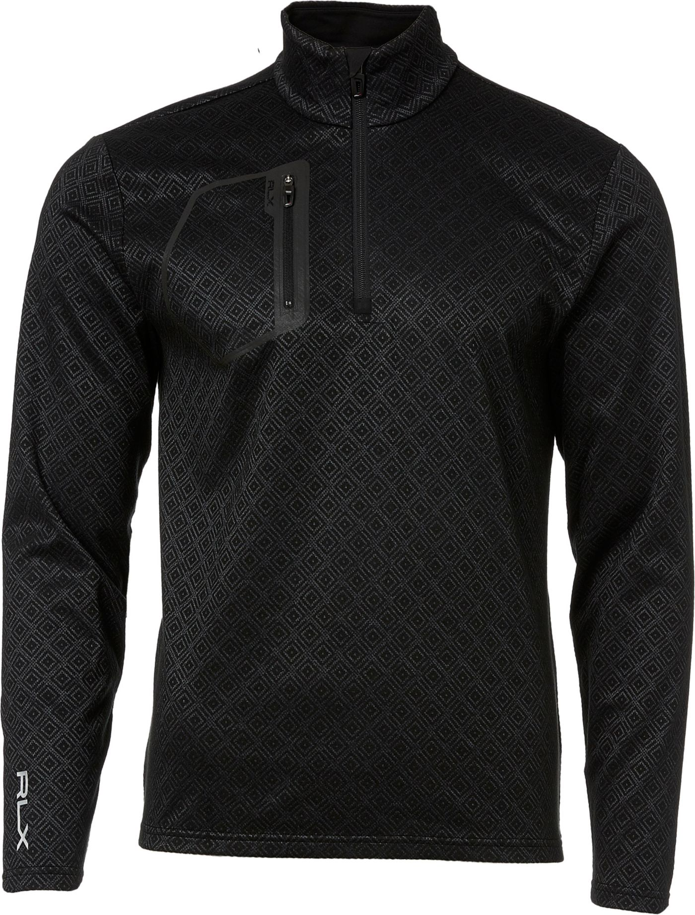 RLX Golf Men's Brushed Jersey Golf ¼ Zip
