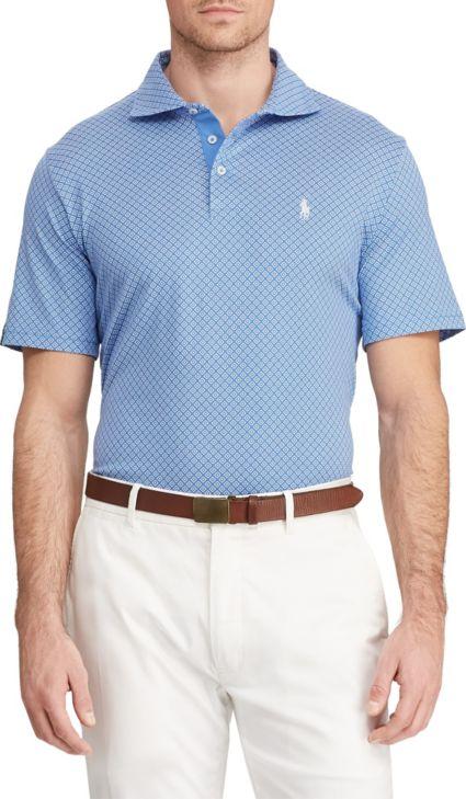 Polo Golf Men's Printed Luxe Golf Polo