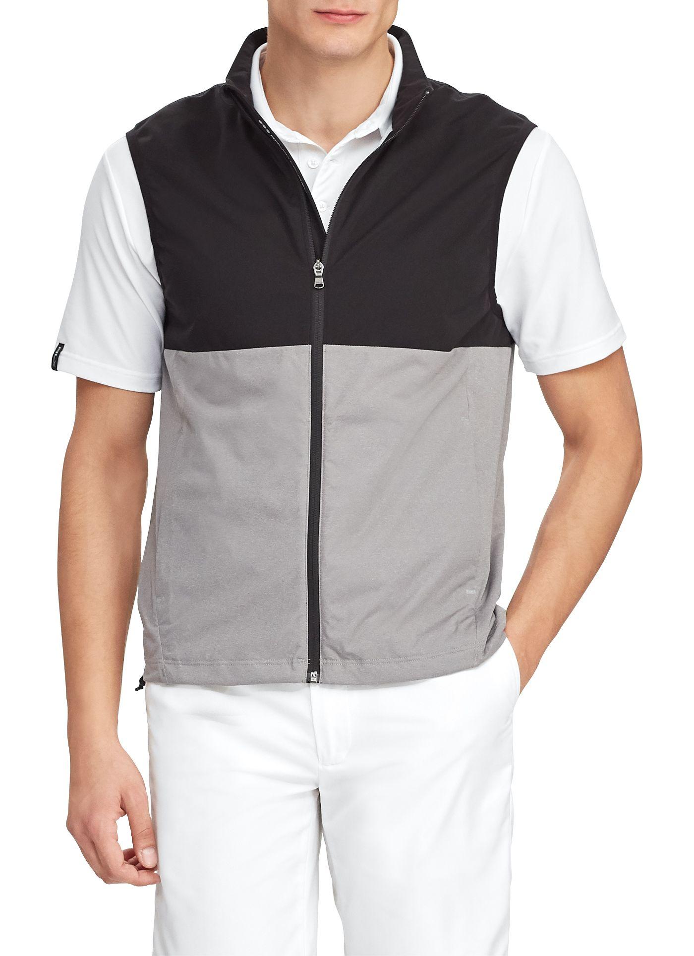RLX Golf Men's Stratus Color Block Golf Vest