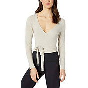Beyond Yoga Women's Cropped Cut-Off Crew Top