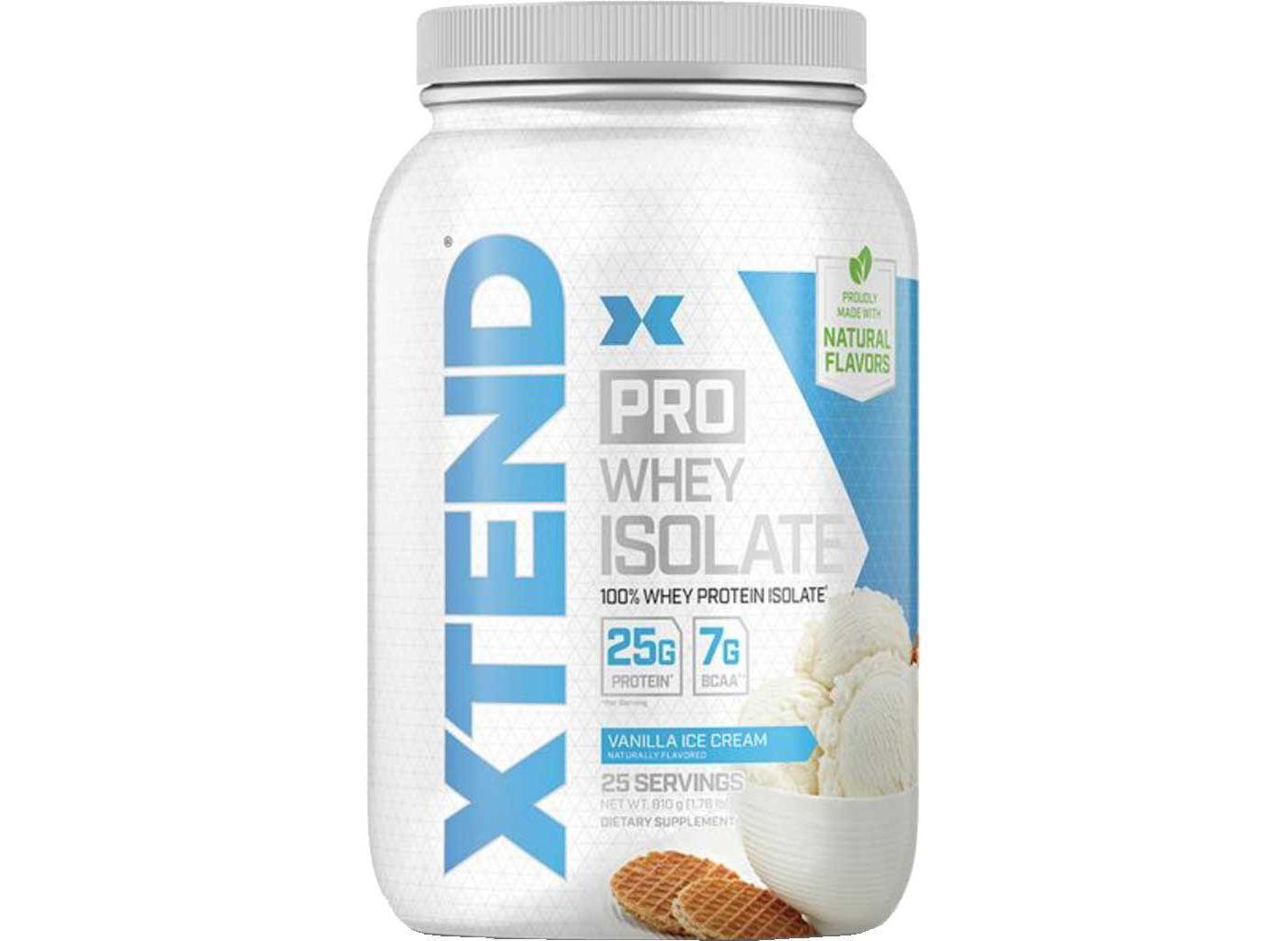 Scivation XTEND Pro Whey Isolate Protein Vanilla Ice Cream 25 Servings