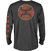 Hooey Men's Colorblock 2.0 Circle Long Sleeve Shirt