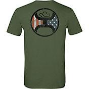 Hooey Men's Patriotic Background T-Shirt