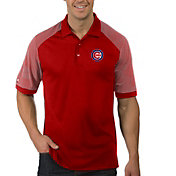 Antigua Men's Chicago Cubs Engage Red Polo