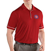 Antigua Men's Chicago Cubs Salute Red Performance Polo